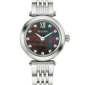 Bulova Mother of Pearl 24mm Diamond Accent Watch